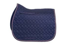 HySpeed Deluxe Saddle Pad With Cord Binding - High quality saddle cloth with 4