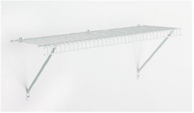 ClosetMaid 1021 Prepack Wire Shelf Kit,