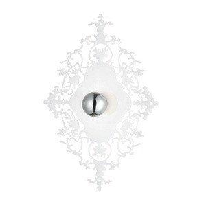 - Eurofase 22982-018 Royal 1-Light Wall Sconce, White
