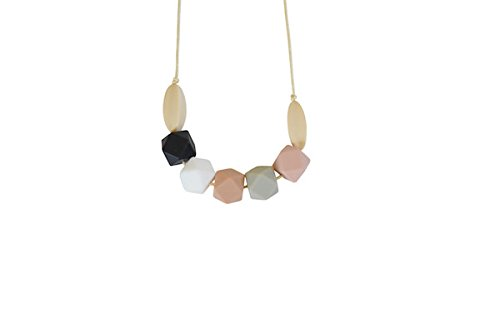 Audrey Silicone Teething Necklace by Chewable Charm   B01BZSGWTS
