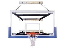 最初チームsupermount80 Triumph steel-glass壁マウントバスケットボールsystem44 ;パープル   B01HC0F0UU