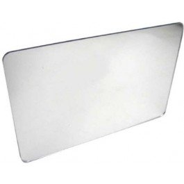 - Pkg of 1 Plastic Mirrors with Rounded Corners 8
