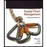 Principles of Supply Chain Management, 3rd edition Front Cover