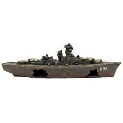 Deep Blue Professional Wwii Sunken Battleship 24&Quot