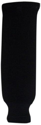 DoGree Hockey Solid Color Knit Hockey Socks, Navy, Adult/32-Inch