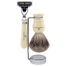 - Grooming Lounge Ivory Men's Shaving Set