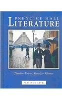 Prentice Hall Literature Timeless Voices Timeless Themes 7Th Se Gr 10   2002C