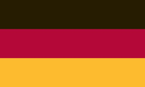 3'x5′ 3 x 5 FT German Germany Flag Sewn Stripes SolarMax Nylon US Made