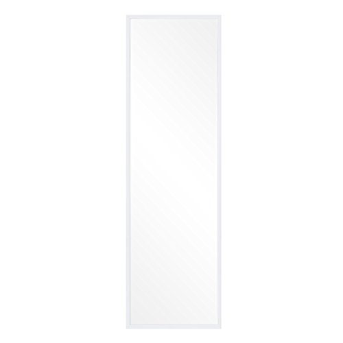 Adjustable Classic Mirror (Patton Wall Decor White Free Standing, 17