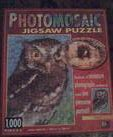 Robert Silvers Photomosaics 1000 pc. Puzzle: Owl by BGI