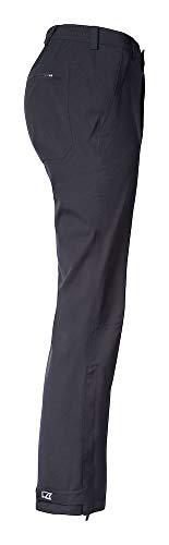 Ladies black Pants l Rain Cutter Farbe amp; Buck Forks Größe UCXqAX