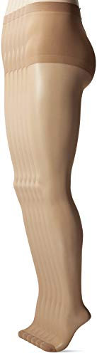 - Hanes Silk Reflections Women's Control Top Reinforced Toe Pantyhose 6-Pack, Little Color, AB