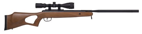 Benjamin Trail NP Hardwood Break Barrel Air Rifle (.22) powered by Nitro Piston