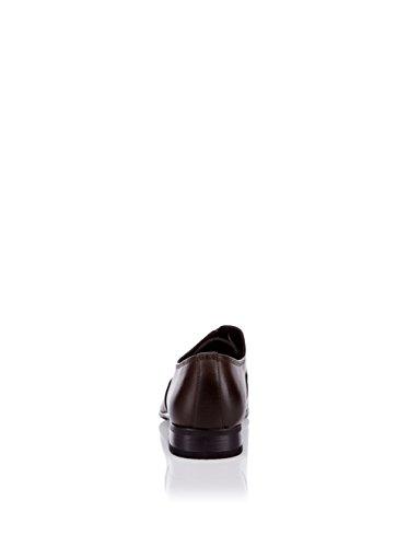 galax , Chaussures de ville à lacets pour homme marron marron