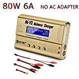 HTRC B6 V2 80W 6A DC RC Multi-Charger for LiPo LiIon LiFe NiCd