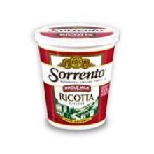 Sorrento Whole Milk Deli Ricotta Cheese, 32 Ounce - 6 per case.