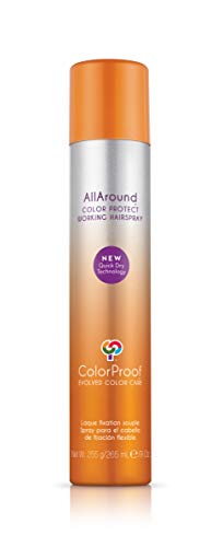 ColorProof AllAround Color Protect Working Hairspray, 9oz]()