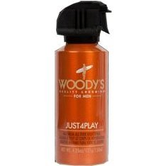 Woody's Just4play Maximum All Over Body Spray, 4.25 Ounce