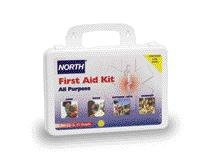 (Honeywell 010101-4354L North by 25 Person General Purpose Portable First Aid Kit, Plastic, 1