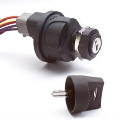 Cole Hersee 95060-04-BX Plastic Rotary Ignition Switch (3 Position)