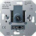 Gira 118100 Light Bulb Dimming Insert with Pressure / 2-Way Switch 100 -1000 W