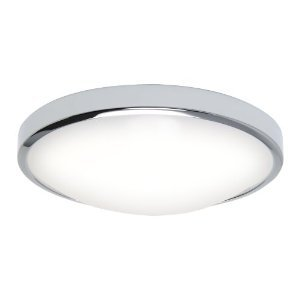 Astro OSAKA Flush Low Energy Ceiling Light Polished Chrome - Low energy ceiling lights for kitchen