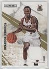 Brandon Jennings #56/299 (Basketball Card) 2010-11 Panini Rookies & Stars - [Base] - Gold Materials [Memorabilia] #31