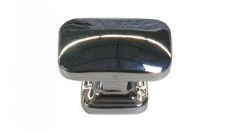 bouton de porte ou tiroir de meuble design en métal chromé 30x30mm ... - Bouton De Meuble Design