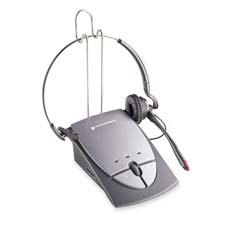 Hands-Free Headset W/Amplifier, Convertible, Gray Qty:3