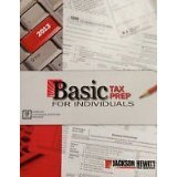Basic Tax Prep for Individuals 2014 Jackson Hewitt offers