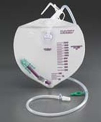 Bard Infection Control Drain Bag W/Antireflux Chamber Latex Free 2000Ml - Model 154005a