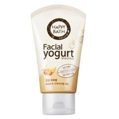 Amore Pacific Mamonde Happy Bath Natural Facial Yogurt Cleansing Foam 120g Essential Fruits