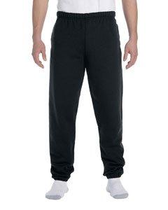 - Jerzees 9 oz Sweatpant w Pockets (4850MP) Super Sweats X-Large Black