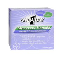 One-A-Day One-A-Day Menopause Formula Complete Women s Multivitamin, 50 tabs Pack of 2