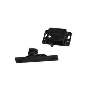 RV Designer H316 Black Push Latch (Quantity 10)