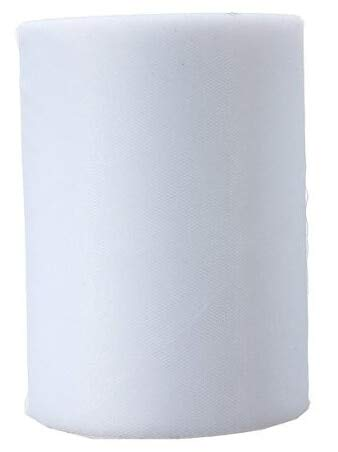 (Pukido White Tulle Roll Spool 12