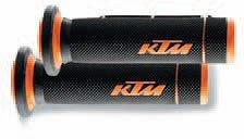 OEM KTM NEW COMPOUND HAND GRIPS 450 505 525 SX ATV XC ATV CLOSED END 83002021000 ()