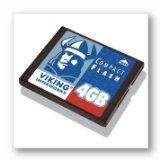 Viking flash memory card - 4 GB - CompactFlash Card ( CF4...