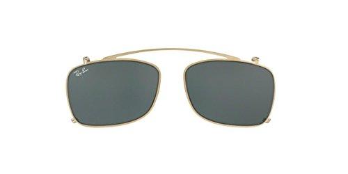 Ray-Ban Men's RX5228C Eyeglasses Gold / Green - Ray 5228 Ban Rx