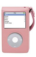 Iluv I106Apnk Leather Protective Case For Ipod Video (Pink)