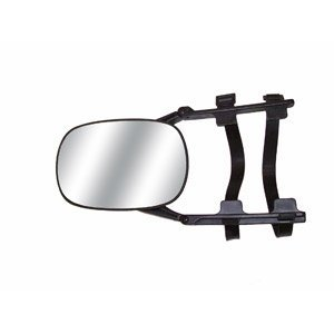 Towing Mirror can clip on for trailer towing the CIPA 11950 auto part is designed to fit trucks and vans. Towing mirrors are great for Chevrolet/GMC/Cadillac/Ford and can be placed on driver or passenger (Cipa Auto)