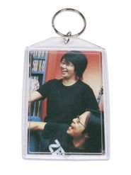 Plastic Photo Snap-in Key Chain - 2x3'' (pack of 100)