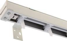 Designer'S Touch 833199 Vertical Blind Head rail Only 84'' White, 8.485'' x 8.485'' x 8.485'' by Designer's Touch