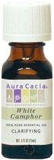 Aura Cacia Essential Oil White Camphor (Cinnamonium Camphora) 0.50 oz