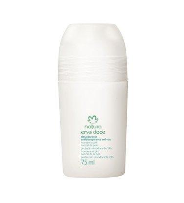 Linha Erva Doce Natura - Desodorante Antitranspirante Roll-On 75 Ml - (Natura Fennel