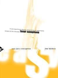 (Easy Jazz Conception for Tenor Saxophone - 15 solo etudes for jazz phrasing, interpretation and improvisation - saxophone in Bb - method with CD - [Language: English & German] - (ADV 14761) by Snidero, Jim (2000) Sheet music)