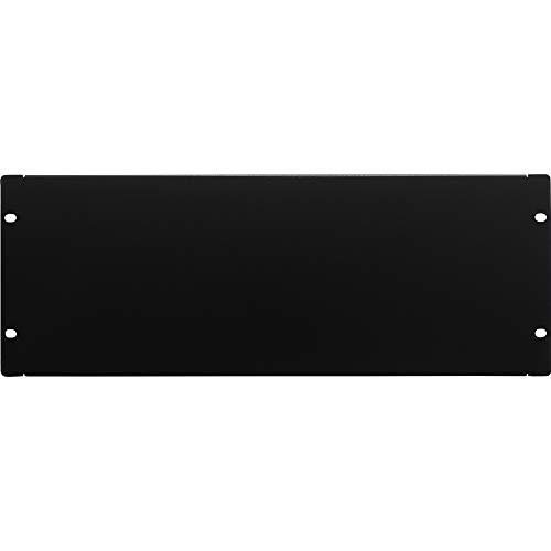 (NavePoint 4U Blank Rack Mount Panel Spacer For 19-Inch Server Network Rack Enclosure Or Cabinet Black )