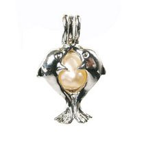 KW Products Love Wish Pearl Kit - Harvest Your Own Pearl - Love Dolphins Pendant