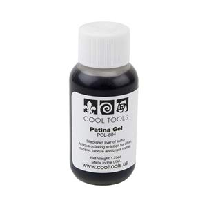Cool Tools - Patina Gel - Stabilized Liver of Sulfur - 1.25 Oz 4 Antique Silver Jewelry