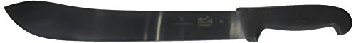 Victorinox Butcher Knife, 12 inch Straight Blade, Fibrox Pro Handle